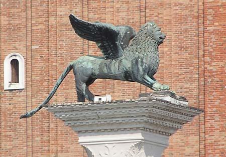 Le Lion ailé symbole de VENISE